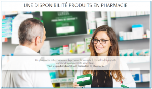 Un pharmacien est certainement la personne la plus apte à conseiller des produits comme des compléments alimentaires. Tous les produits Luxéol sont disponibles en pharmacie.