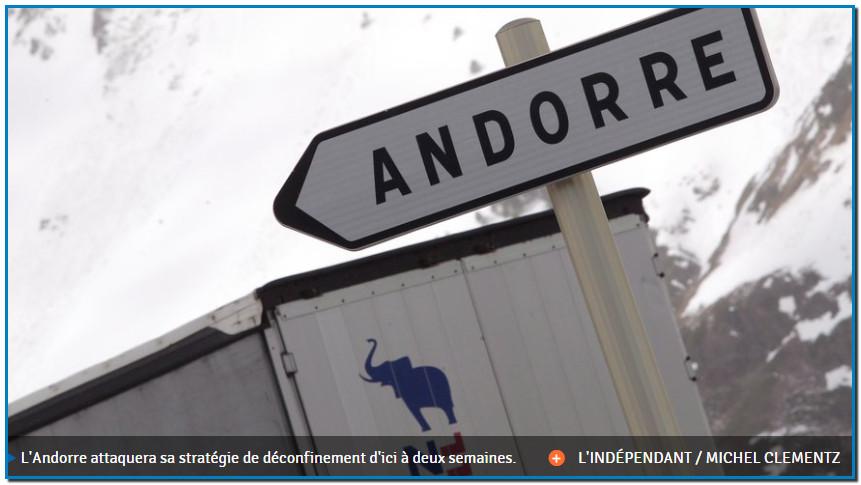 L'Andorre procédera à des tests rapides qui permettront de déterminer si le sujet a développé des anticorps pour lutter contre le coronavirus Covid-19